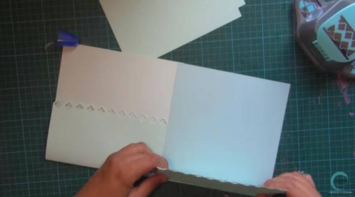 papel liso azul