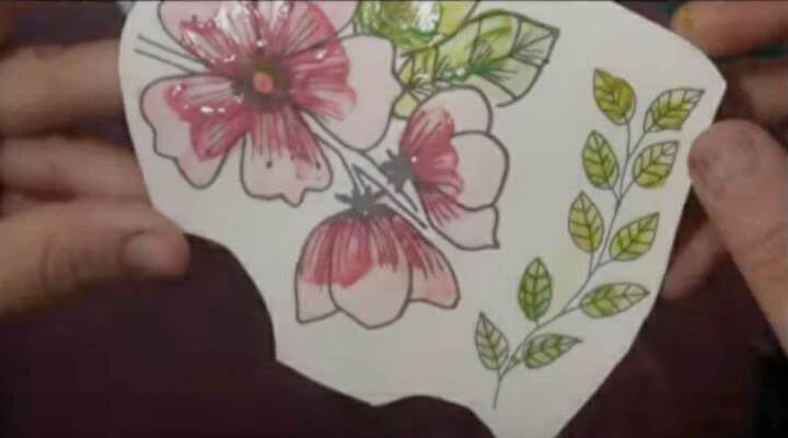 flores rosadas para el layout