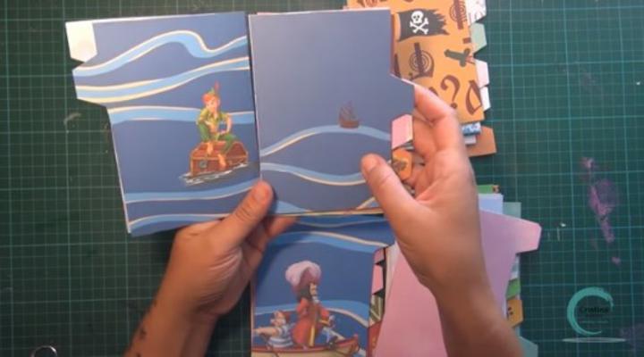 papel decorado de disney