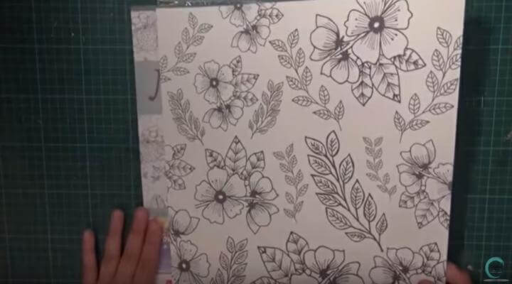 papel para decorar el layout