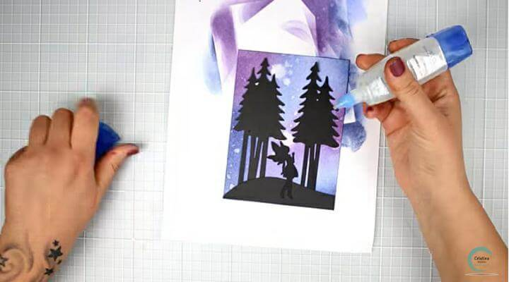 elementos decorativos para la  tarjeta con chibitronics