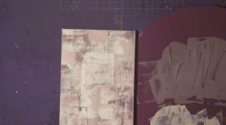 base de colores rosas para el photo transfer