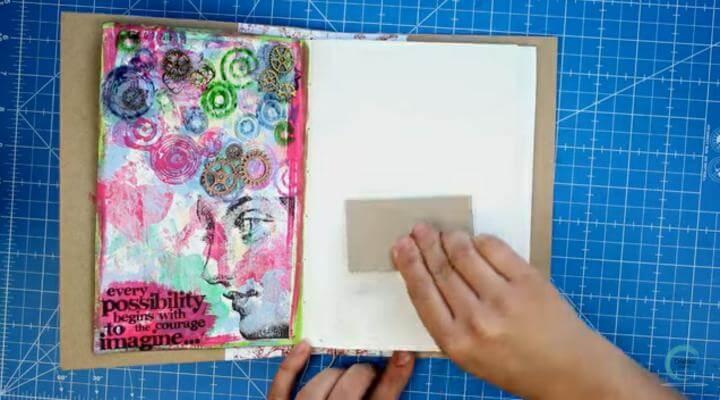 imprimante en el art journal