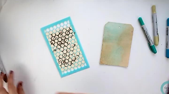 stencil para textura en el tags