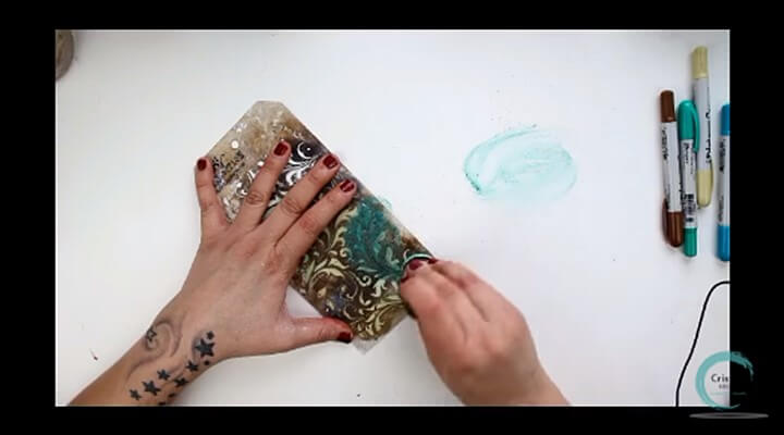 pasta de textura para fondo en el tags