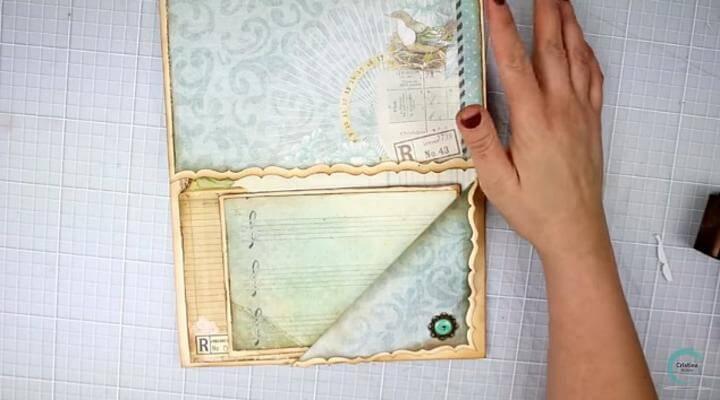 hacer tarjetas y tags para los bolsillos de la estructura del álbum scrap